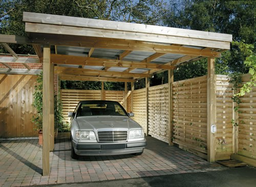 woodworking carport